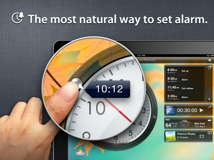 Alarm Clock Premium Free screenshot-1