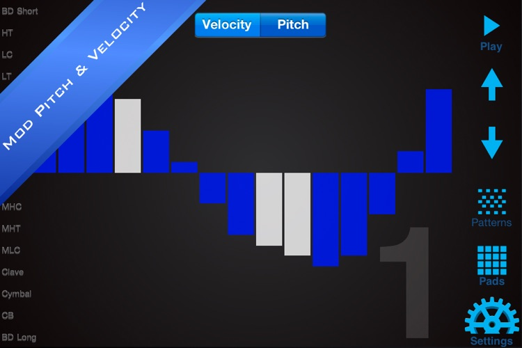EasyBeats 2 Pro Drum Machine - Beat or Program Drums! screenshot-3