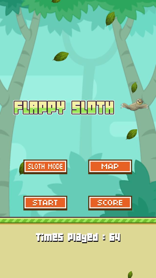 Flappy Slothのおすすめ画像1
