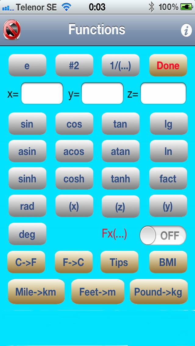 Super Calculator スーパー電卓のスクリーンショット2