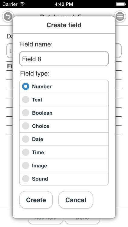 Field Database (FDB) screenshot-3