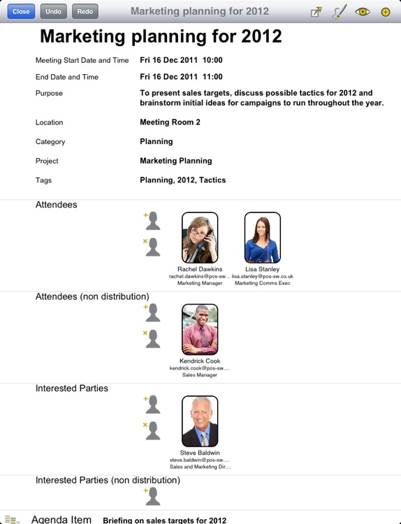 Meeting Gold - Ultimate meeting note taking and action tracking. screenshot-4