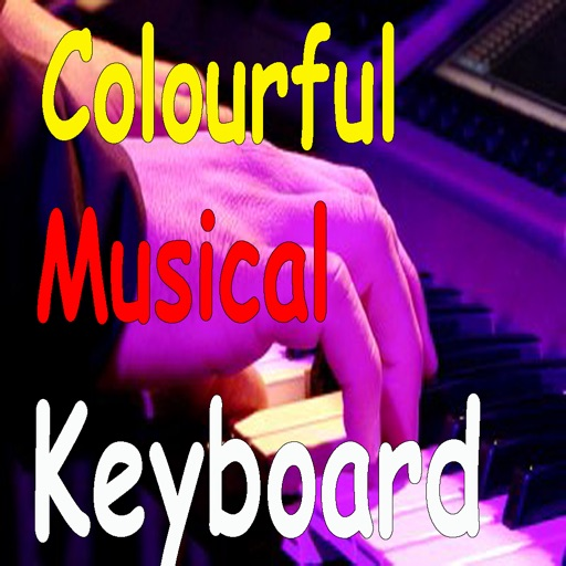 Colorful Musical Keyboard.Learning Keyboard and Piano with iPad
