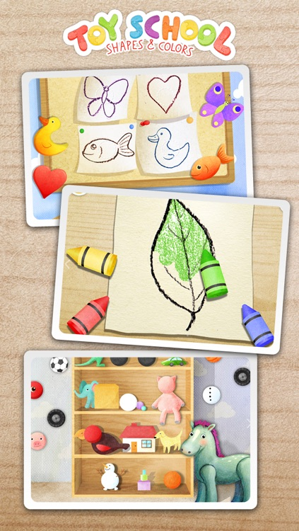 Toy School - Shapes and Colors (Free Kids Game)