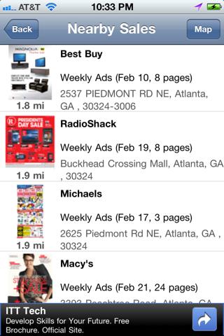 Weekly Ads & Sales for Kohls, CVS, Publix, Bestbuy, etc screenshot 3