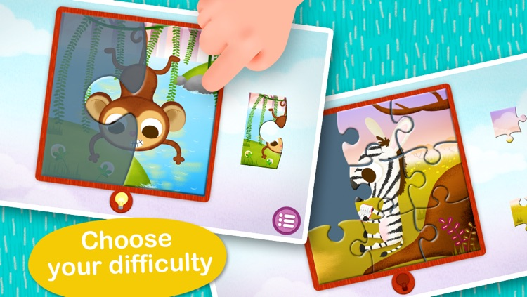 Wildlife Jigsaw Puzzles 123 Free - Fun Learning Puzzle Game for Kids