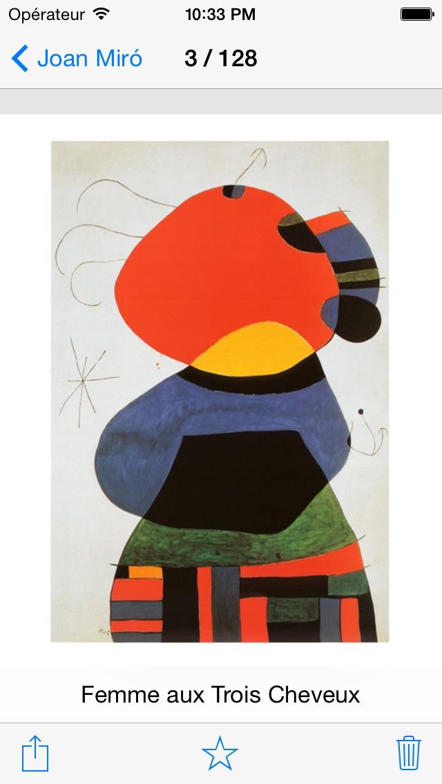 download Miró 128 peintures  (HD  100M+) apps 2