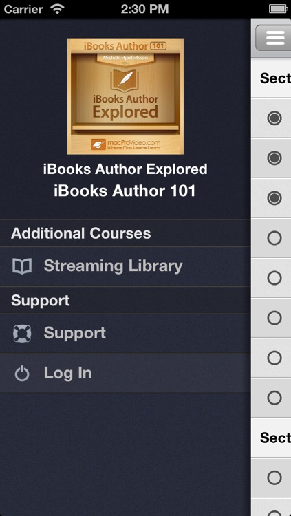 Course for iBooks Author 101 - iBooks Author Explored