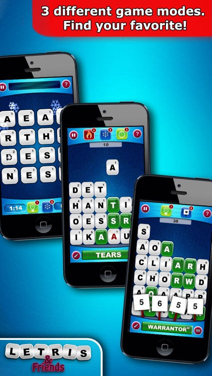 Letris & Friends: Word puzzle game screenshot-4