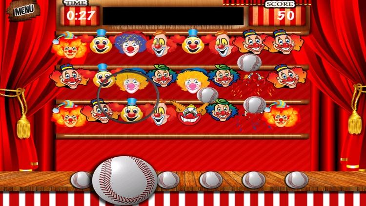 Carnival Games Baseball toss - Knock out Strike Zone Pitch screenshot-3