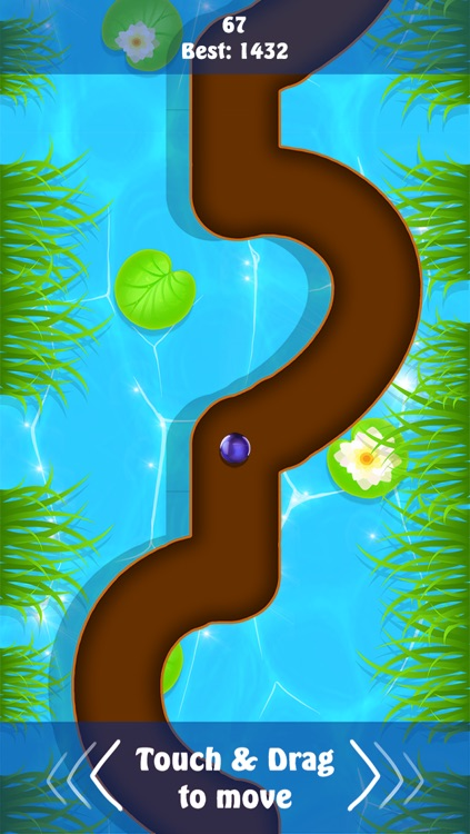 Rolling Purple Balls in the Line Two screenshot-3