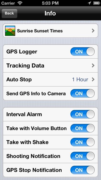 ZGR-1 Nikon GPS Unit and Timer Remote Control screenshot-4