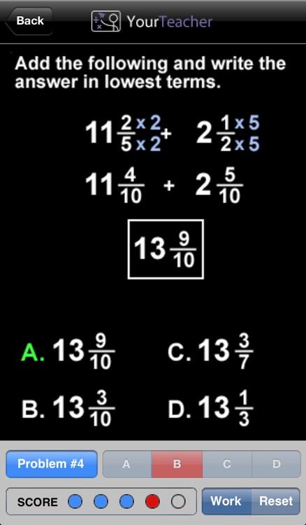 Pre-Algebra screenshot-4