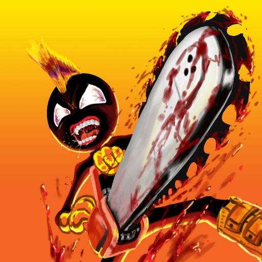 A Stickman Chainsaw Attack - eXtreme Mutant Mayhem Death Edition