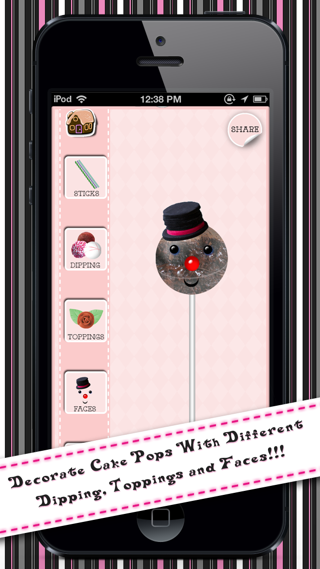 Pop Cake Designer Lite screenshot four