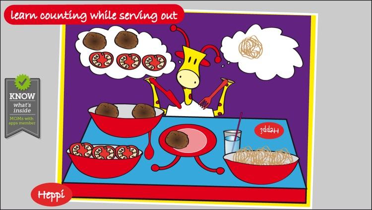 Bo's Dinnertime Story - FREE Bo the Giraffe App for Toddlers and Preschoolers!
