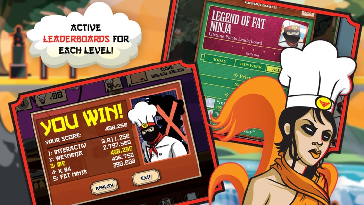 Legend of Fat Ninja screenshot-3