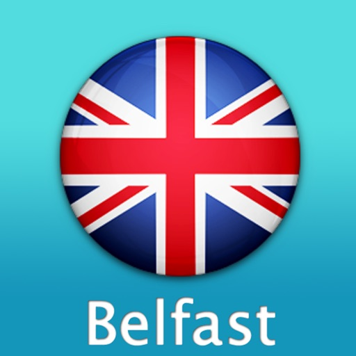 Belfast Travel Map (UK) icon
