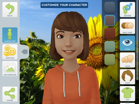 Tellagami Screenshot 0