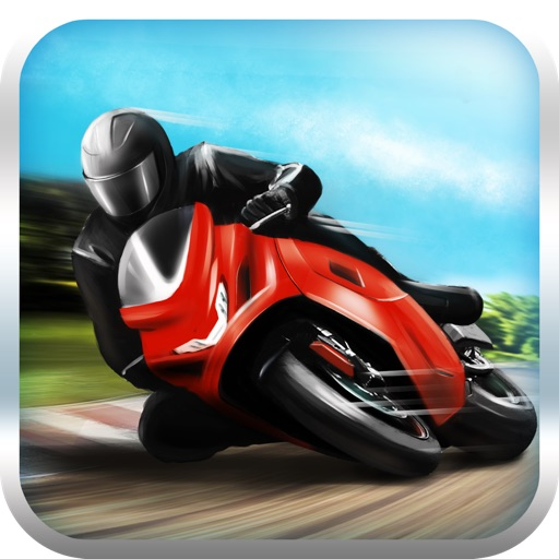 Motorcycle Fury! Race Track Highway Racing Game