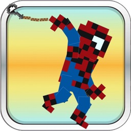 Pixel Hero Rope'N'Fly - Flappy Game