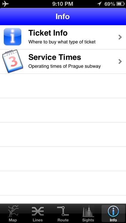 Prague Subway Guide with Offline map screenshot-4