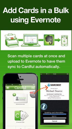 Cardful business card management on evernote on the app store reheart Images