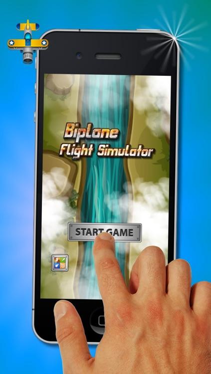Biplane Flight Simulator - Fun Free Plane Flight Game by Florian Porkert