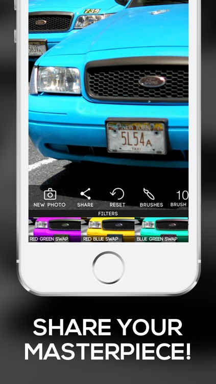 Color Filters: Custom Photo Filters + Photo Enhancements + Paint Effects screenshot-4
