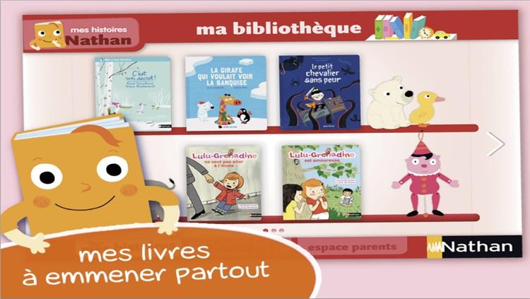 Mes histoires Nathan : des livres interactifs pour les enfants dès 3 ans by SEJER