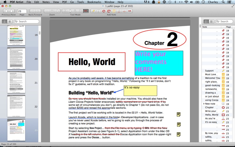 PDF Artist Screenshot