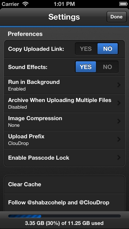 ClouDrop for Dropbox screenshot-3