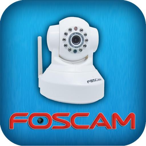 Foscam IP Cam Control iOS App