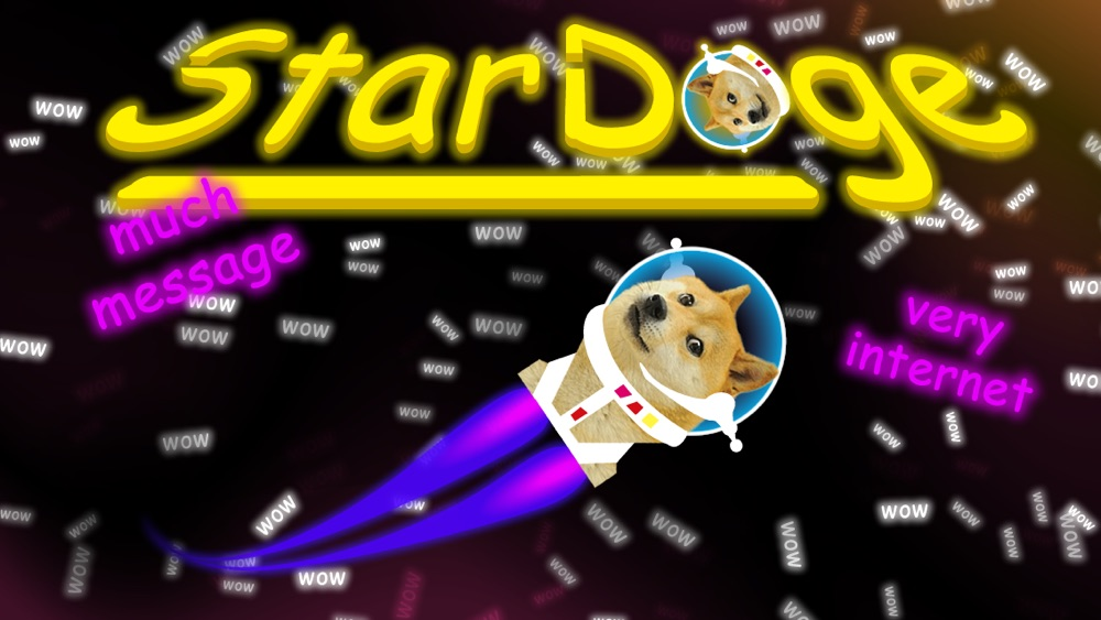 Star Doge: Anonymous NSA Free Internet Message Board