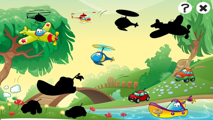 A Game of Cars and Vehicles for Children Age 2-5: Learn for Pre-school & Kindergarten