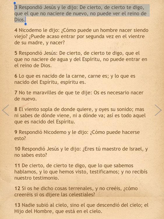 La Biblia Reina Valera para iPad con Audio screenshot-4