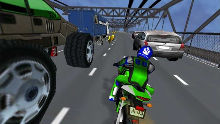 Moto Madness - 3d Motor Bike Stunt Racing Game screenshot-3
