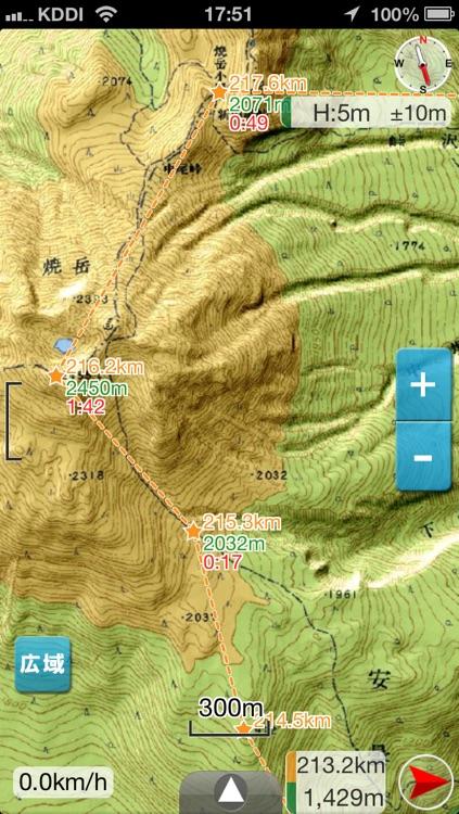 DIY GPS [App for trekking]