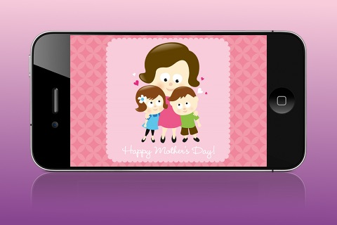 Mother's Day Card Creator - Lite screenshot-1