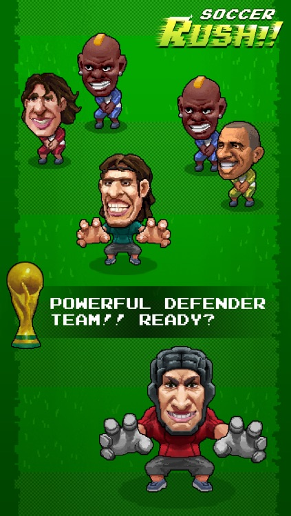 Soccer Rush!