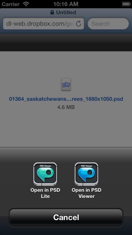 PSD Viewer for Photoshop screenshot-3