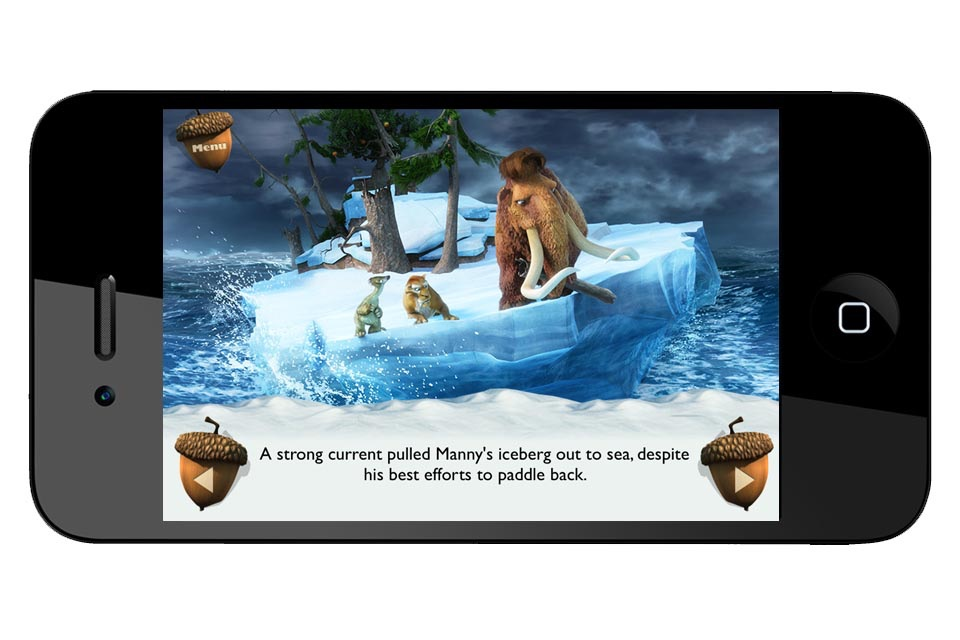 Ice Age Movie Storybook Collection Screenshot
