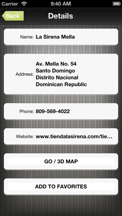 Dominican Republic GPS Map Navigator