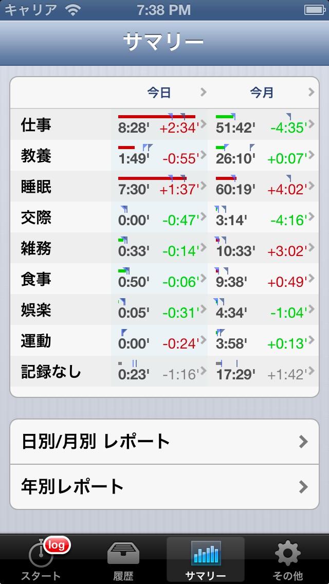 Timenote screenshot1