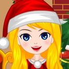 Candy Christmas Girl icon
