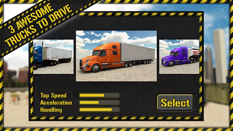 Trucker Parking 3D screenshot-4