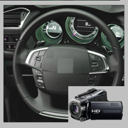 Speedometer with Video Camera with Speed/Time Info