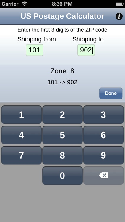 US Postage Calculator screenshot-3