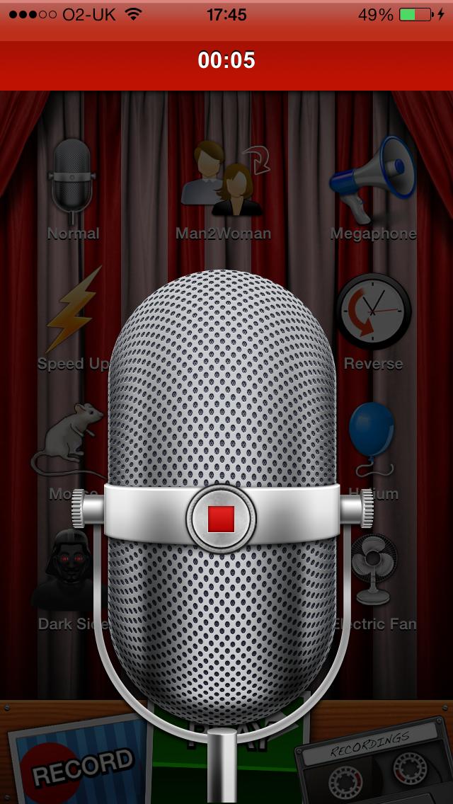 Voice Changer screenshot two
