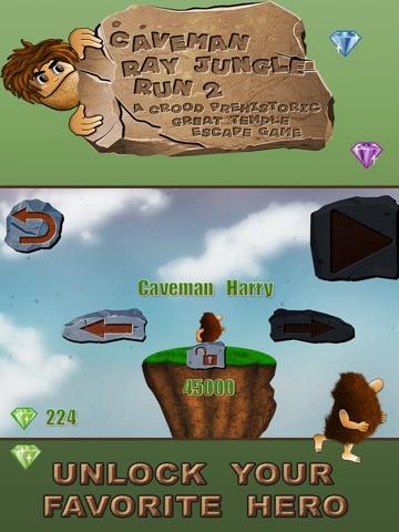 caveman jungle run a great dinosaur escape game free edition app